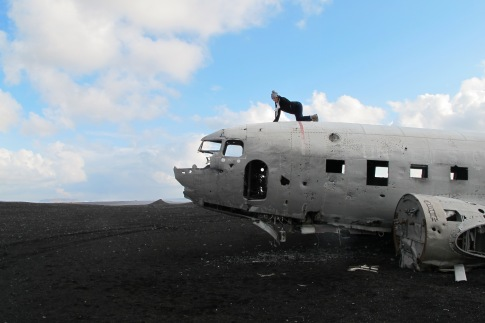 Sólheimasandur, Iceland