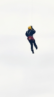 Abseiling Rescue Guy