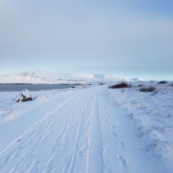 Can you run in Iceland during the Winter? Where should I run in Iceland? Winter running in Reykjavik is magical.